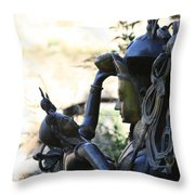 Divine Mother And Child Throw Pillow