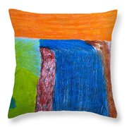 Divine Mystery Throw Pillow