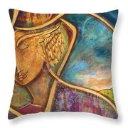 Divine Wisdom Throw Pillow by Shiloh Sophia McCloud