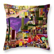 Divinely Blessed Marital Harmony 16c Throw Pillow