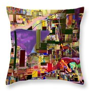 Divinely Blessed Marital Harmony 16d Throw Pillow