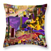 Divinely Blessed Marital Harmony 16f Throw Pillow