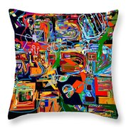 Divinely Blessed Marital Harmony 25 Throw Pillow