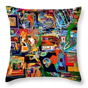 Divinely Blessed Marital Harmony 27 Throw Pillow
