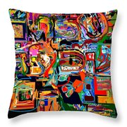 Divinely Blessed Marital Harmony 29 Throw Pillow