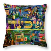 Divinely Blessed Marital Harmony 42 Throw Pillow