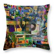 Divinely Blessed Marital Harmony 48 Throw Pillow