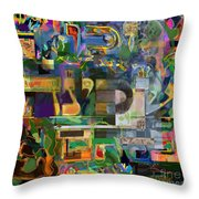 Divinely Blessed Marital Harmony 49 Throw Pillow