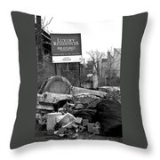 Division Of The Classes Throw Pillow