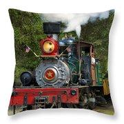 Dixiana Engine 2 Throw Pillow
