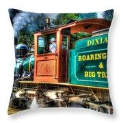 Dixiana Engine 3 Throw Pillow