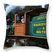 Dixiana Engine 4 Throw Pillow