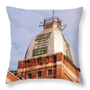 Dixie Beer Headquarters 2 Throw Pillow