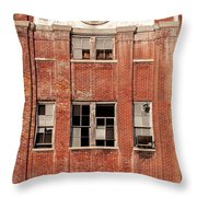 Dixie Beer Headquarters Throw Pillow
