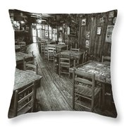 Dixie Chicken Interior Throw Pillow