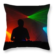 DJ Throw Pillow