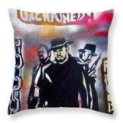 Django Freedom Throw Pillow by Tony B Conscious