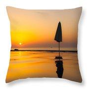 Djibouti Sunset Throw Pillow