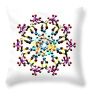 Dna 48 Throw Pillow