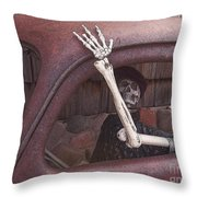 Do Not Drink And Drive Throw Pillow