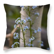 Do Not Forget Me Throw Pillow