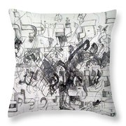Do Not Labor In Vain And Do Not Listen To Worthless Matters 2 Throw Pillow