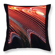 Do The Wave Throw Pillow