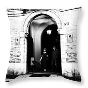 Do We Need The Umbrella Throw Pillow