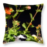 Do You Have Any Flowers That Lived Throw Pillow by Lori Tambakis