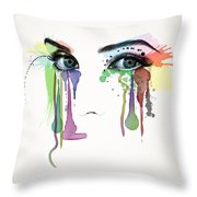Do You Really Want To Hurt Me Throw Pillow