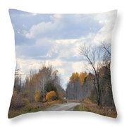 Do You Think It Will Rain Throw Pillow