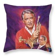 Doc Severinsen Throw Pillow