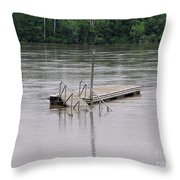 Docking Throw Pillow