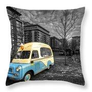 Docklands Ice Cream  Throw Pillow
