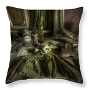 Doctor Death Throw Pillow
