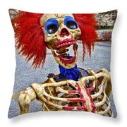 Doctor I Am A Bit Stressed Lately Throw Pillow by Daniel Hagerman