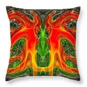 Doctor Octopus Throw Pillow