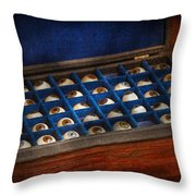 Doctor - Optometrist - I've Always Had Eyes For You Throw Pillow