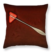 Doctor - Orthopedic Tool - Reflex Hammer Throw Pillow