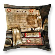 Doctor - The First Aid Kit Throw Pillow