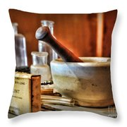 Doctor - Wire Splint And Mortar Throw Pillow
