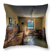Doctors Office Throw Pillow by Adrian Evans