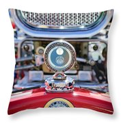 Dodge Brothers - Boyce Motometer Throw Pillow