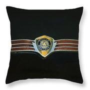 Dodge Brothers Emblem Throw Pillow