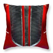 Dodge Brothers Grille Throw Pillow