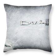 Dodge Dart 440 Emblem Throw Pillow