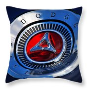 Dodge Division Throw Pillow