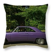Dodge Gts- Side Throw Pillow