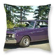 Dodge Gts- Trees Throw Pillow