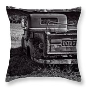 Dodge In The Zone Throw Pillow